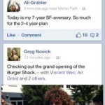 Facebook for iPhone 1