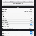 FiLMiC Pro for iPad 4