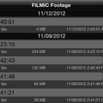FiLMiC Pro for iPhone 4