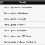 FiLMiC Pro for iPhone 5