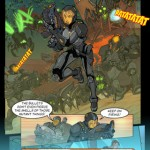 Hero's Duty Interactive Comic for iPhone 2