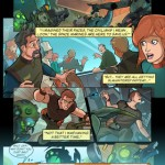 Hero's Duty Interactive Comic for iPhone 3