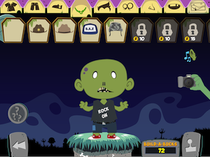 My awesome zombie.