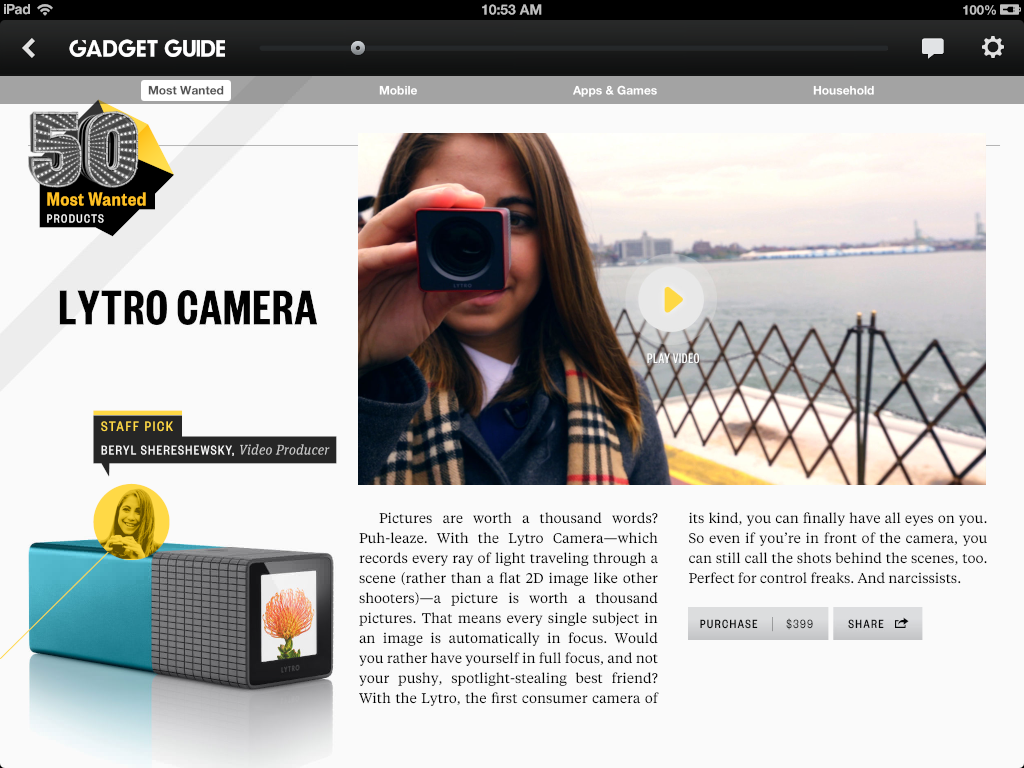 The Daily's 2012 Gift and Gadget Guide