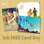 Ink Free Card Day