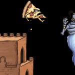 Pizza Vs. Skeletons Genie