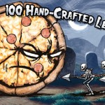 Pizza Vs. Skeletons for iPhone 1