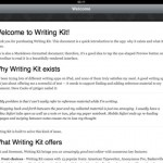 Writing Kit for iPad 2