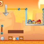 Chicken Raid version 1.2 (iPhone 5) - Desert (Level 13