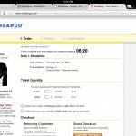 Chrome version 23.0.1271.91 (iPad 2) - Tickets