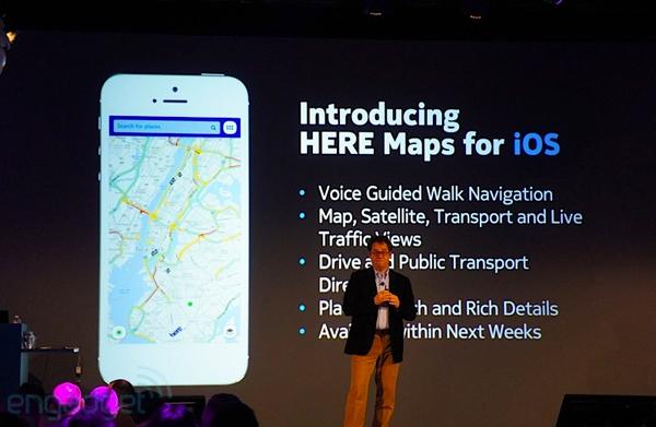 Nokia představila nové mapy a chystá aplikaci pro iOS