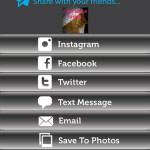 Instawords Pro (iPhone 4S) - Share