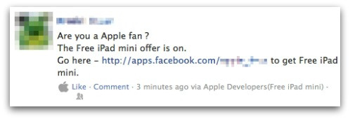 iPad mini scam