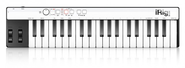 iRig Keys - Mini MIDI Controller Keyboard