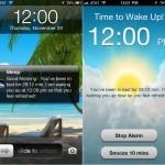 MotionX Sleep version 4.0 (iPhone 5) - Alarm