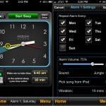 MotionX Sleep version 4.0 (iPhone 5) - Alarm Settings