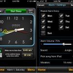 MotionX Sleep version 4.0 (iPhone 5) - Alarm Settings
