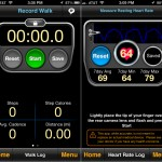 MotionX Sleep version 4.0 (iPhone 5) - Walks and Heart Rate