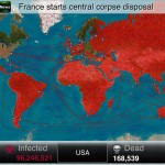 Plague Inc version 1.4.1 (iPhone 5) - World Map