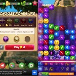 Ruby Blast Free (iPhone 5) - Game Options and Gameplay