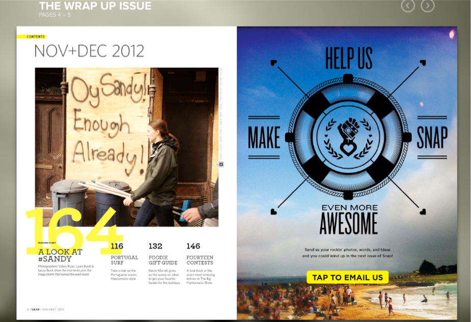 Snap Magazine for Web
