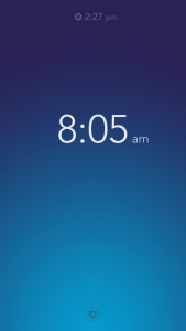 Rise Alarm Clock by Kellen Styler screenshot