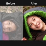 Adobe Photoshop Express for iPhone 1