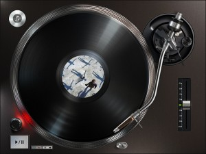 Turnplay - The #1 vinyl record player for iPad by Illya Kulakov screenshot