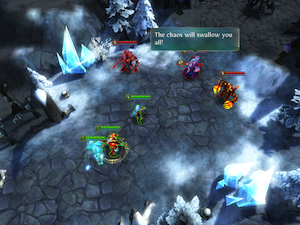 Heroes of Order & Chaos - Multiplayer Online Game by Gameloft screenshot