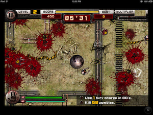 Zombie Smasher HD by A-onesoft screenshot