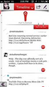 tweetary: Your Personal Twitter Diary by tappnology screenshot