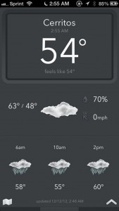 Today Weather by savvy apps, llc screenshot