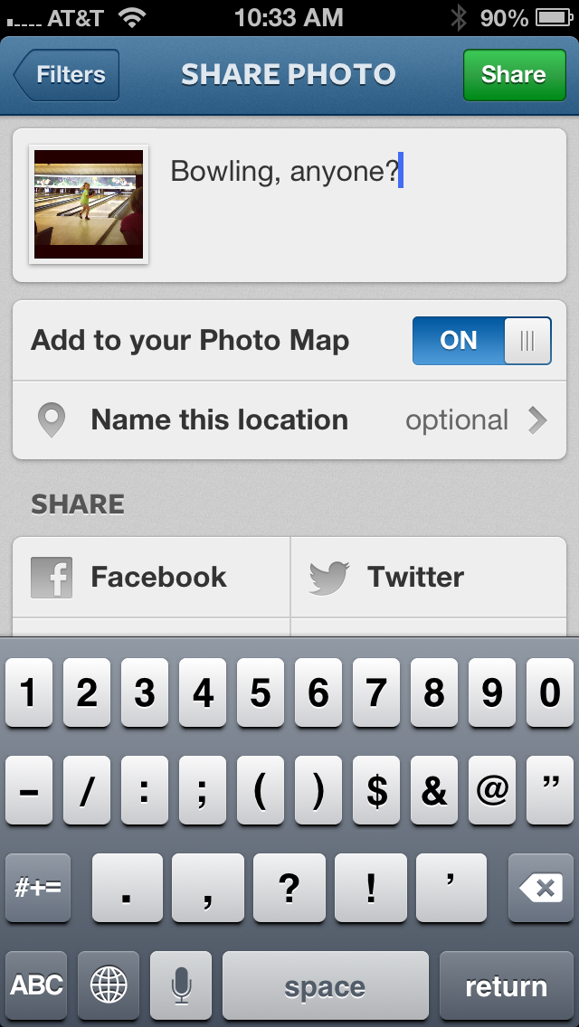 Use Instagram To Edit And Post Photo