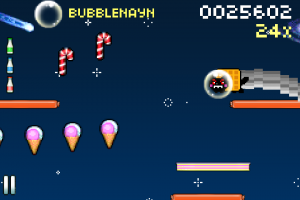 8bit Nyan Cat: Lost In Space by Istom Games Kft. screenshot