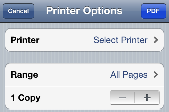 photo image Use Safari To Save Any Web Page As A PDF With This Jailbreak Tweak
