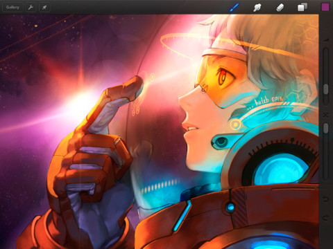 Get Creative On A Huge Cinematic Canvas With Procreate For IPad