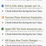 Slow Feeds for iPhone 3
