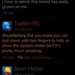Twitterrific 5 for iPhone 1