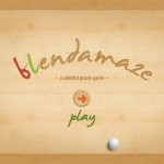 Blendamaze version 1.1 (iPad 2) - Main Menu