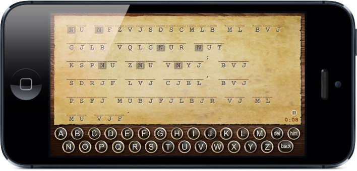 Cryptogram for iPhone