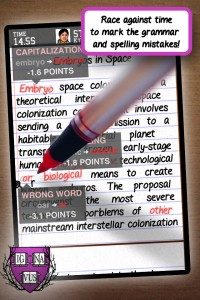 The Grading Game by mode of expression, LLC screenshot