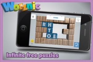 Wozznic - Word puzzle game by Ivanovich Games screenshot