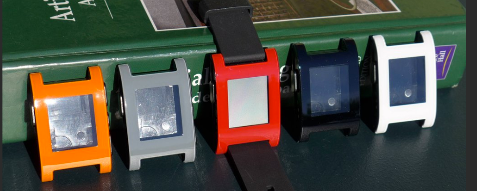 Pebble Watch colors