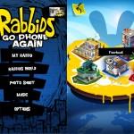 Rabbids Go Phone Again version 1.1.4 (iPhone 4) - Main Menu and World