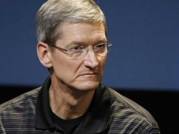 Tim Cook - His team is angry