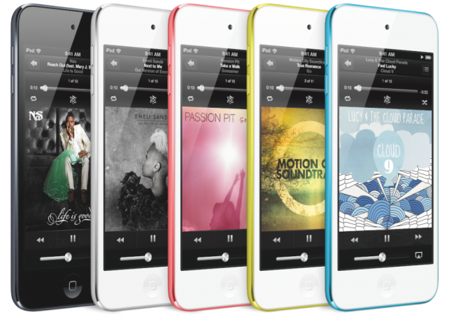Current Version Of iPod Touch in Color