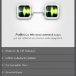 Audiobus for iPad 4