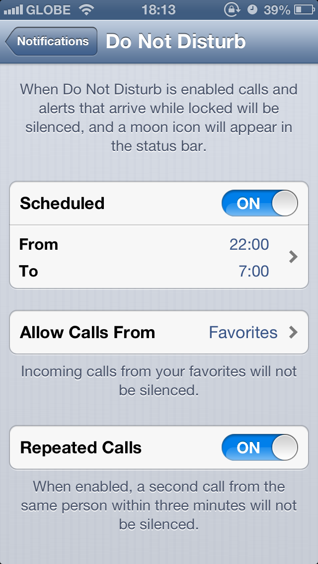 Как на айфоне сделать чтобы не могли дозвониться