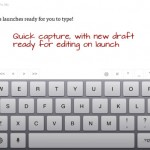 Drafts for iPad 1