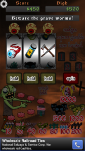 Outbreak: Zombie Slots by Timothy Scott screenshot
